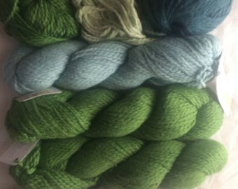 Blue Sky Worsted Organic Cotton yarn (5+ skein lot)
