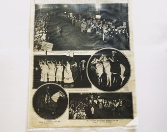 RARE The New York Times Sunday Cover Women's Suffrage Parade on Fifth Avenue November 17, 1912 FREE SHIPPING!