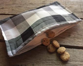Reusable Cloth Snack Baggie
