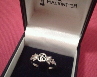 Vintage 'Carrick' Sterling Silver Rennie Mackintosh Ring
