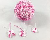 Crochet Cotton - Hand Dyed - Size 10 - Fuschia Fusion ****Limited Supply****
