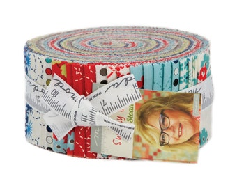 Sunday Drive Batik Fabric Collection by Pat Sloan for Moda Fabrics - 1 Jelly Roll