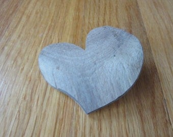 Heart Handcrafted One of a Kind Weathered Driftwood Heart Lake Michigan Craft Supplies