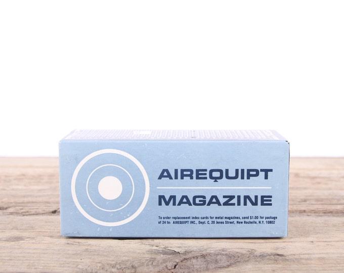 Vintage Airequipt Magazine Slide Holder / Automatic Slide Magazine For 2x2 Slides / Old Slide Tray / Antique Slide Tray / 35mm Slide Tray