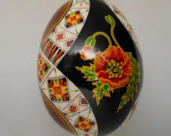 Goose Egg Pysanky Pysanka from Ukraine By Ira