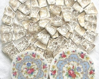 Limoges - You Can't Get More Elegant Than These - Mosaic China Tiles