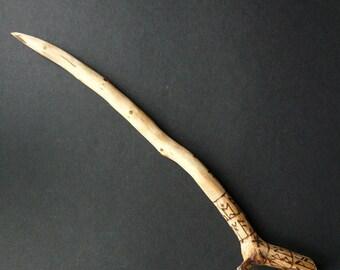 Blackthorn Rune Wand (2)