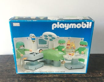 Playmobil 3459 Operating Room Doctor Surgery Hospital 1985 NIB SEALED