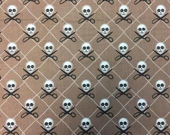 Crafty Skulls (Discontinued Fabric) - By The Yard