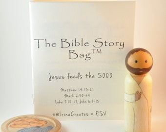The Bible Story Bag Jesus Feeds the 5000