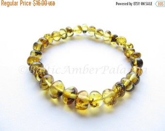 17%OFF--CHRISTMAS SALE Baltic Amber Light Green Color Bracelet