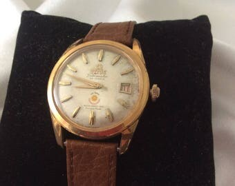 1962 Asian Games Titus Titomatic 30 Jewels Swiss Wrist Watch,Very Rare,Collectible