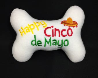 Cinco De Mayo Dog Toy