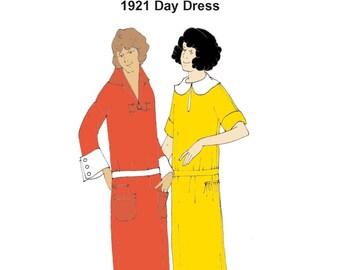 RH1202 — 1920s Day Dress