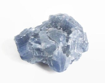 Blue Calcite Raw from Mexico · Healing Crystals · Blue Calcite · Throat Chakra