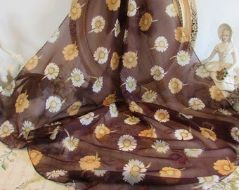 Beautiful vintage French scarf..... Paris chic....