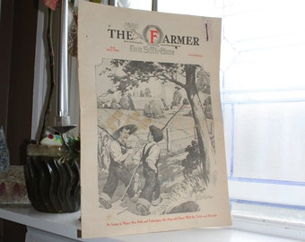 Vintage 1933 Magazine The Farmer St Paul Minnesota