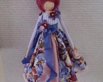Shabby Chic Handmade Art Doll
