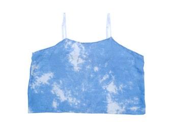 Cloud - Cloud Print Cropped Cami Top