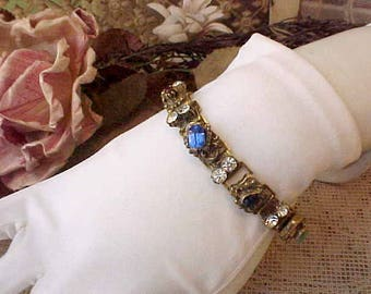 Beautiful Vintage Jeweled Bracelet