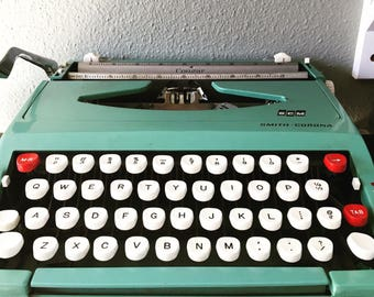 Smith Corona vintage typewriter