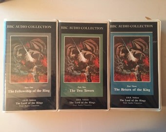 BBC Audio Cassette Tapes (12) The Lord of the Rings by J. R. R. Tolkien