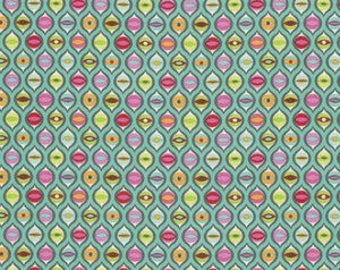 PRESALE - Tabby Road - Cat Eyes in Strawberry Cooler - Tula Pink for Free Spirit - PWTP095.COOLE - 1/2 Yard