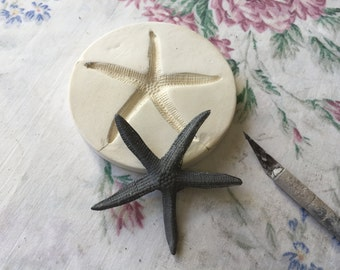 Clay Sprig Starfish - Pottery Press Mold - Relief Mold or Push Mold for Ceramic Decoration and Texture