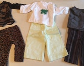 """Clearance Sale! Great Buy!!! Lot of American Girl 18"""" doll  clothes 3 Separate Outfits"""