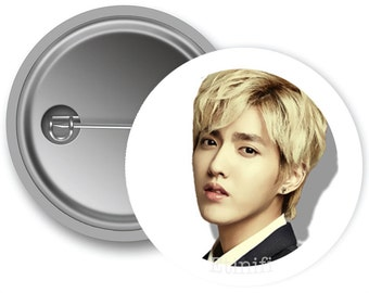 EXO Kris Pinback Buttons (Made to Order)