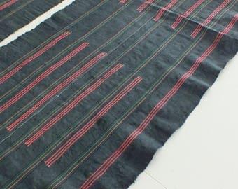 5 yards, Hmong  hemp Vintage fabrics and  textiles - Handwoven hemp-ethnic textiles from thailand