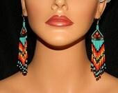 FireSky II Dangle Earrings