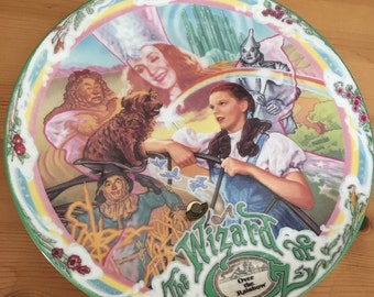 Wizard of Oz Over the Rainbow Limited Edition Movie Theme Collector's Plate 1993