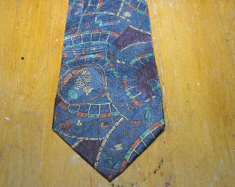 Authentic Ermenegildo Zegna Silk Tie