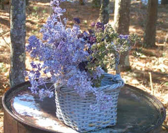 Preserved Oregano Flowers in Pale Lavender with White Frost***50 Sturdy Stems***Beautiful Addition to Floral Arrangements, Wedding & Home