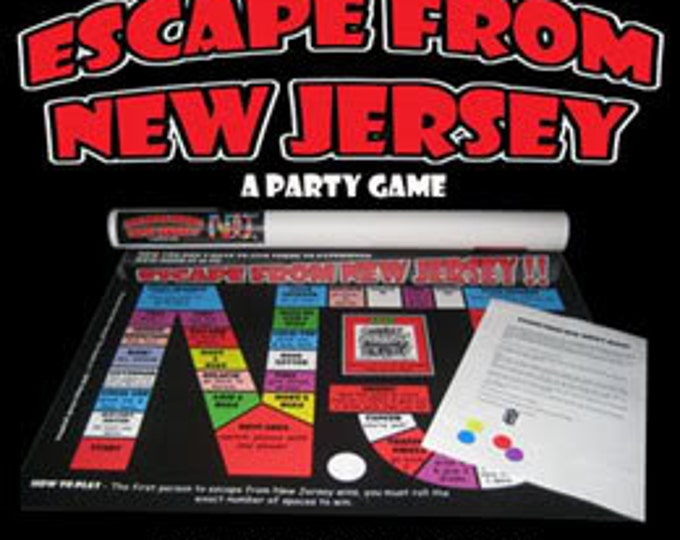 Featured listing image: Escape From New Jersey the game.