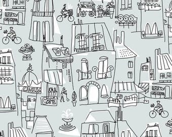 An American in Paris (Grey)  - Andover Fabrics - 1 Yard
