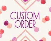 custom listing for Maggie Evangelou