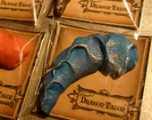 Harry Potter, Fantastic Beasts, How to Train Your Dragon, Kids Party Favors, Game of Thrones Gift- 12 Magic Dragon Talon Shortbread Cookies