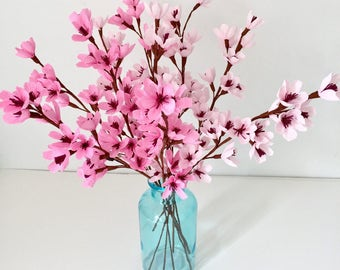 Cherry Blossoms,Apple blossoms-Paper flowers