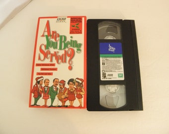 Are You Being Served Holiday Special VHS Video Tape BBC