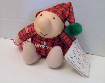 1991 ZIGGY I Love You American Greeting Ziggy & Friends Collectible Plush Toy NWT