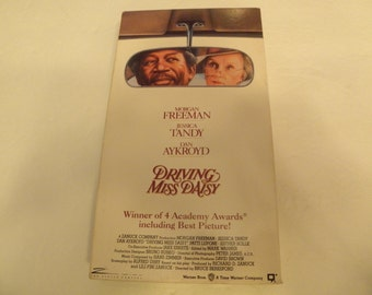 Driving Miss Daisy VHS Video Tape Box Cover Pre-owned