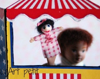 Gretel Puppet for dollhouse (1:12 scale)