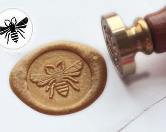 Free Shipping Bee Wax Seal Stamp Kit Set Sealing wax stamp Wedding Invitation Stamp wax stamp sealing stamp  S1236