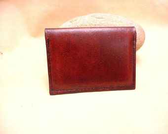 Credit Card Case or Business Card Case- Leather-Sale