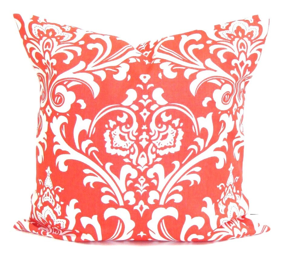 Coral Bed Throw Pillows : CORAL Pillows Pillow Cover Decorative Pillow Throw Pillow