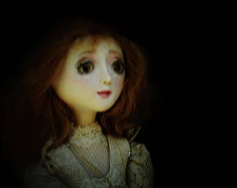 SOLD** Millicent ~ OOAK Art Doll