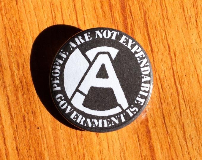 "Aus-Rotten - 1.25"" Pinback Button"