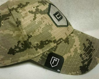 Brim-It Hat Clip- 1* Design (One Asterisk)